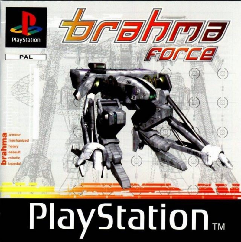 Brahma Force (zonder handleiding) - PS1