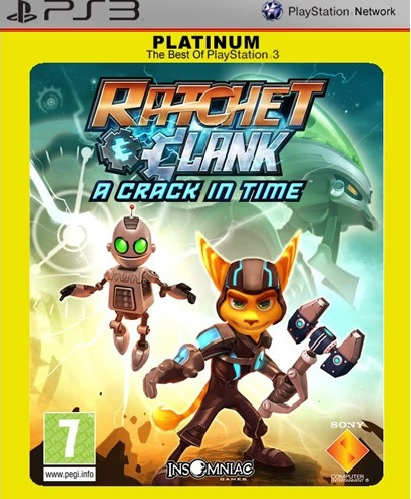 Ratchet & Clank A Crack In Time Platinum