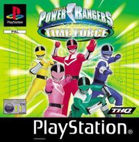 Power Rangers Time Force - PS1