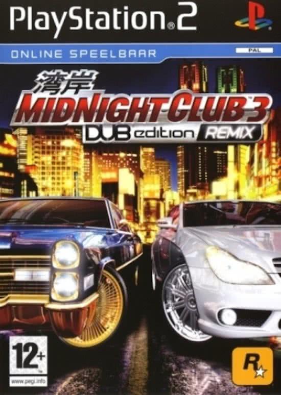 Midnight Club 3 Dub Edition Remix - PS2