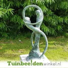 "Modern tuinbeeld ""De Oneindige Dans"" BBW52214br"