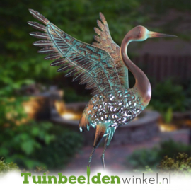 Dieren tuinbeeld ''De kraanvogel'' Tbw0871pr37