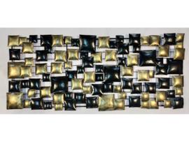 """Metalen figuur """"Wanddecoratie 3"""" TBW16138me"""