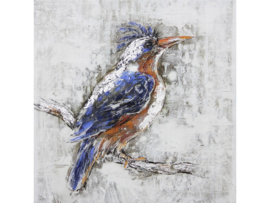 """Olieverf schilderij dieren """"Kleurrijke vogel"""" TBW0053sc"""