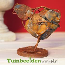 """Metalen kip """"Het roestige kippetje"""" TBW310001me"""