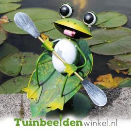 Dieren tuinbeeld ''De surfende kikker'' Tbw0871pr12