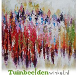 Modern olieverf schilderij ''Kleurrijk'' TBW006166