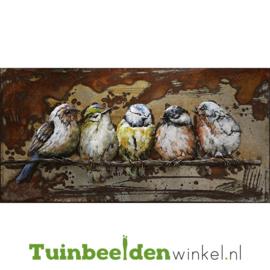 """Dieren schilderij """"De musjes"""" TBW000780"""