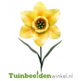 Metalen bloem ''Gele narcis'' Tbw0871pr97