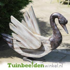 Dieren tuinbeeld ''De mooie zwaan'' Tbw0871pr31
