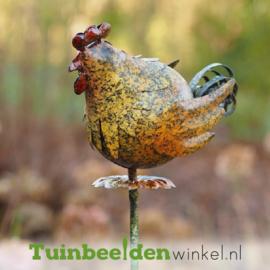 """Metalen kip """"De kleine kip'' TBW14063me"""