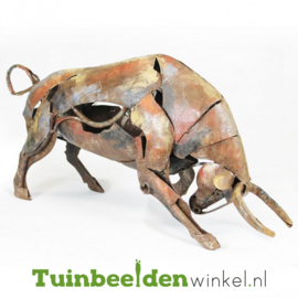 Dieren tuinbeeld ''De krachtige stier'' Tbw0871pr30