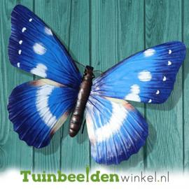 "Metalen vlinder ''Grote blauwe vlinder"" TBW0871pr73"