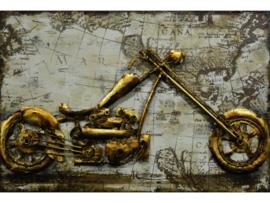 """3D schilderij """"Motortrip"""" TBW000663sc"""