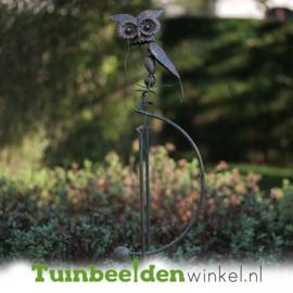 Metalen uil ''De uil'' TBW17012