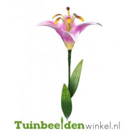 Tuinbeelden ''Roze lelie'' Tbw0871pr98