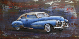 "Metalen schilderij ""Amerikaanse oldtimer"" TBW60120012sc"