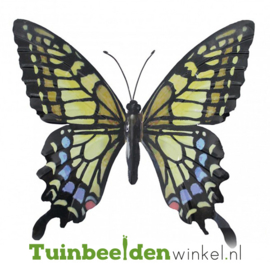 Metalen vlinder ''Gekleurde metalen vlinder'' TBW0871pr71