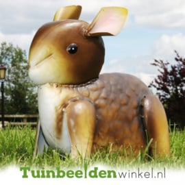 Dieren tuinbeeld ''Grijs konijntje'' Tbw0871pr35