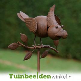 Tuinsteker ''Het nieuwsgierige vogeltje'' TBW13285