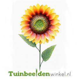 Metalen bloem ''Gele zonnebloem'' Tbw0871pr100