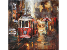 """3D schilderij """"De tram"""" TBW60600117sc"""