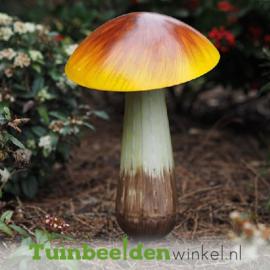 """Metalen figuur """"De paddenstoel"""" TBW10646me"""