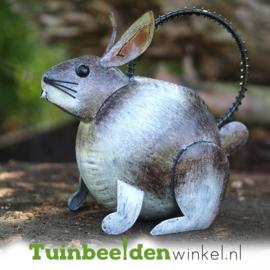 Metalen tuinbeeld figuur ''Het konijntje'' TBW16114
