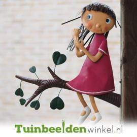 Metalen figuur ''Het schattige meisje'' TBW12082