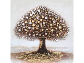 "Olieverf schilderij ""Magic tree"" TBW006313sc"