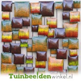 Metalen schilderij ''Abstractie'' TBW16122