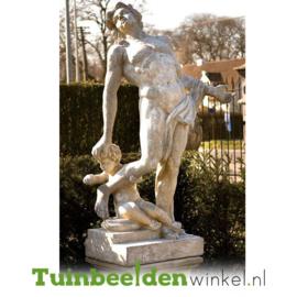 "Standbeeld ""Vader en zoon"" op sokkel TBW4br410br"