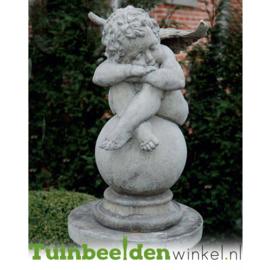 """Engelen beeld """"Slapende engel"""" op sokkel TWB3br237br"""