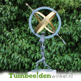 Sculptuur  zonnewijzer TBW1165br