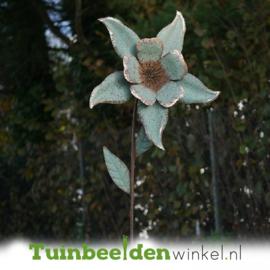 Metalen bloem ''De mooie narcis'' TBW90041