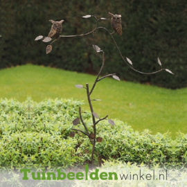 """Tuinsteker balans """"De fascinerende uiltjes"""" TBW19607me"""