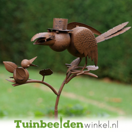 Tuinsteker ''Voedertijd'' TBW13295