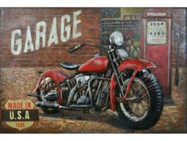 "3D schilderij ""Garage"" TBW001805sc"