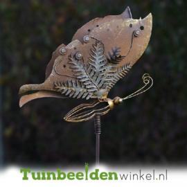 Metalen vlinder ''De mooie vlinder'' TBW89162