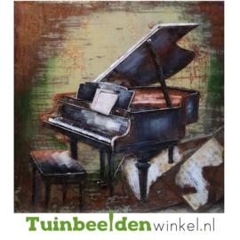 """Muziek schilderij """"De piano"""" TBW01038sc"""