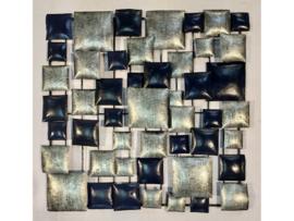"""Metalen figuur """"Wanddecoratie 5"""" TBW16137me"""
