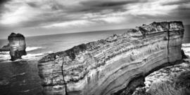 """Schilderij van RVS """"De cliff"""" TBW018sc"""