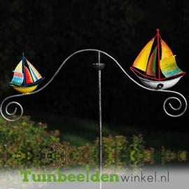 "Tuinsteker balans ""De varende bootjes"" TBW16010me"