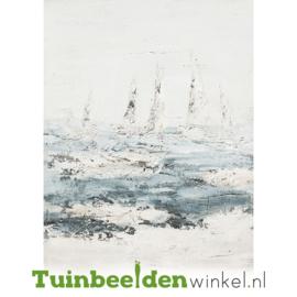 Olieverf schilderij ''De zeilbootjes'' TBW60026