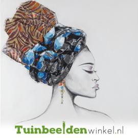 Olieverf schilderij ''De prachtige vrouw'' TBW60020