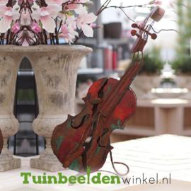 """Metalen figuur """"De viool"""" TBW310021me"""