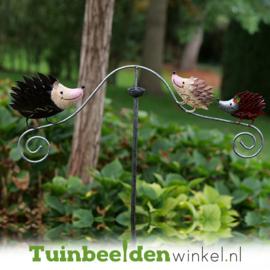Tuinsteker balans ''De drie egeltjes'' TBW16047