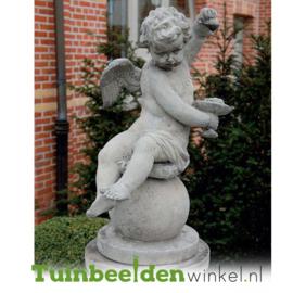 """Engelen beeld """"Engel"""" op sokkel TWB3br225br"""