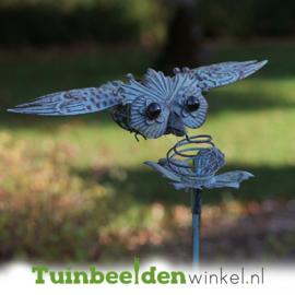 Metalen uil ''De vliegende uil'' TBW17995