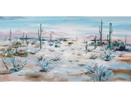 Olieverf schilderij landschap ''Woestijn'' TBW60048sc